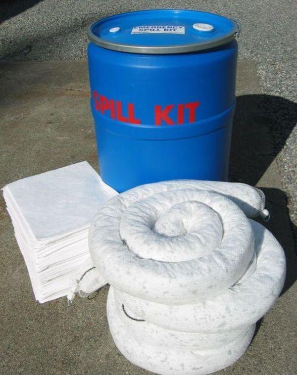 Poly Drum Marine Spill Response Kit - (KI-ESK205-M),