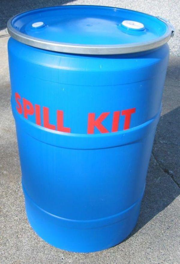 Poly Drum Spill Response Kit - (KI-ESK205-L),