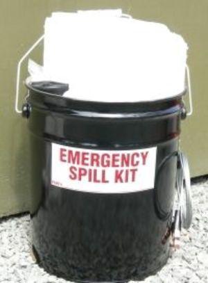 Spill Response Kit for Petroleum Tanker Trucks,