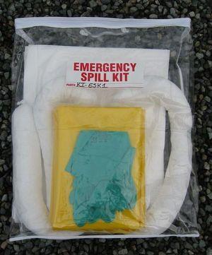 Clear Pack Spill Response Kit - (KI-ESK1),