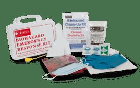XSORB Wall Mount Biohazard Response Kit - (KI-BK607),