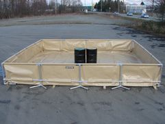Frame Supported Berm,
