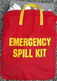 KI-ESK-F2B Basic Vehicle Spill Kit in Nylon Bag (Level 2-no plug pattie),