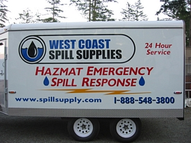 Trailers For Sale Calgary >> Hazmat Spill Response Trailers > Emergency Spill Response Trailer in BC, Alberta and ...