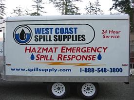 Hazmat Spill Response Trailers Gt Emergency Spill Response