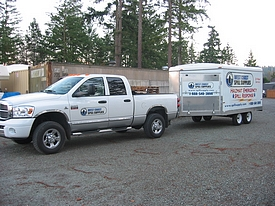 Hazmat Spill Response Truck and Trailer